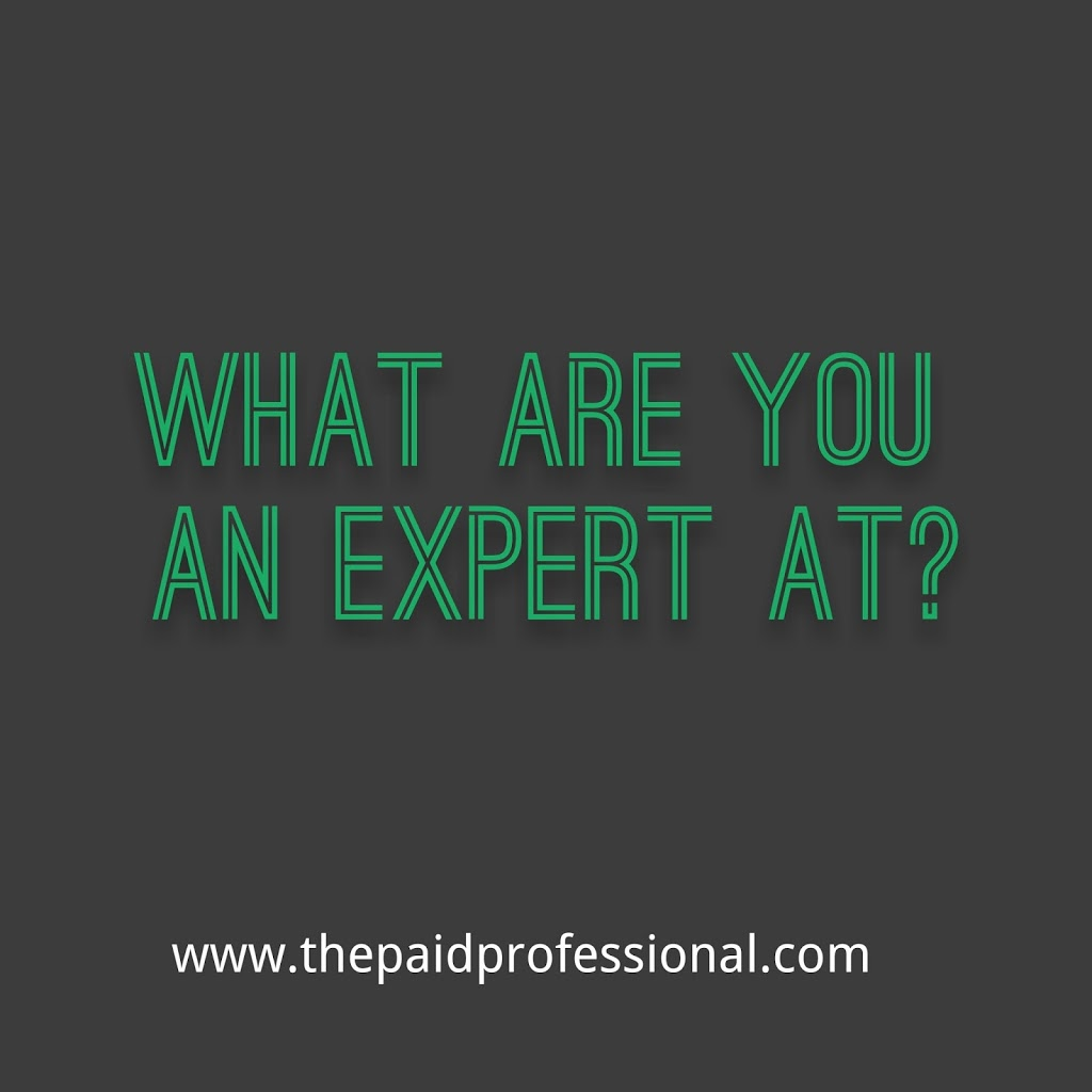 WHAT ARE YOU AN EXPERT AT?